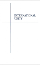 International Unity - booklet - Image