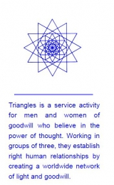 Triangles folder - Image
