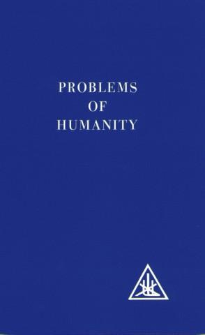 Problems of Humanity - paper