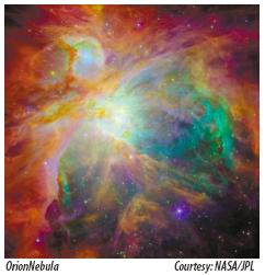 [Figure 9: Orion Nebula]