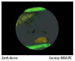 [Figure 13: Earth: aurora]